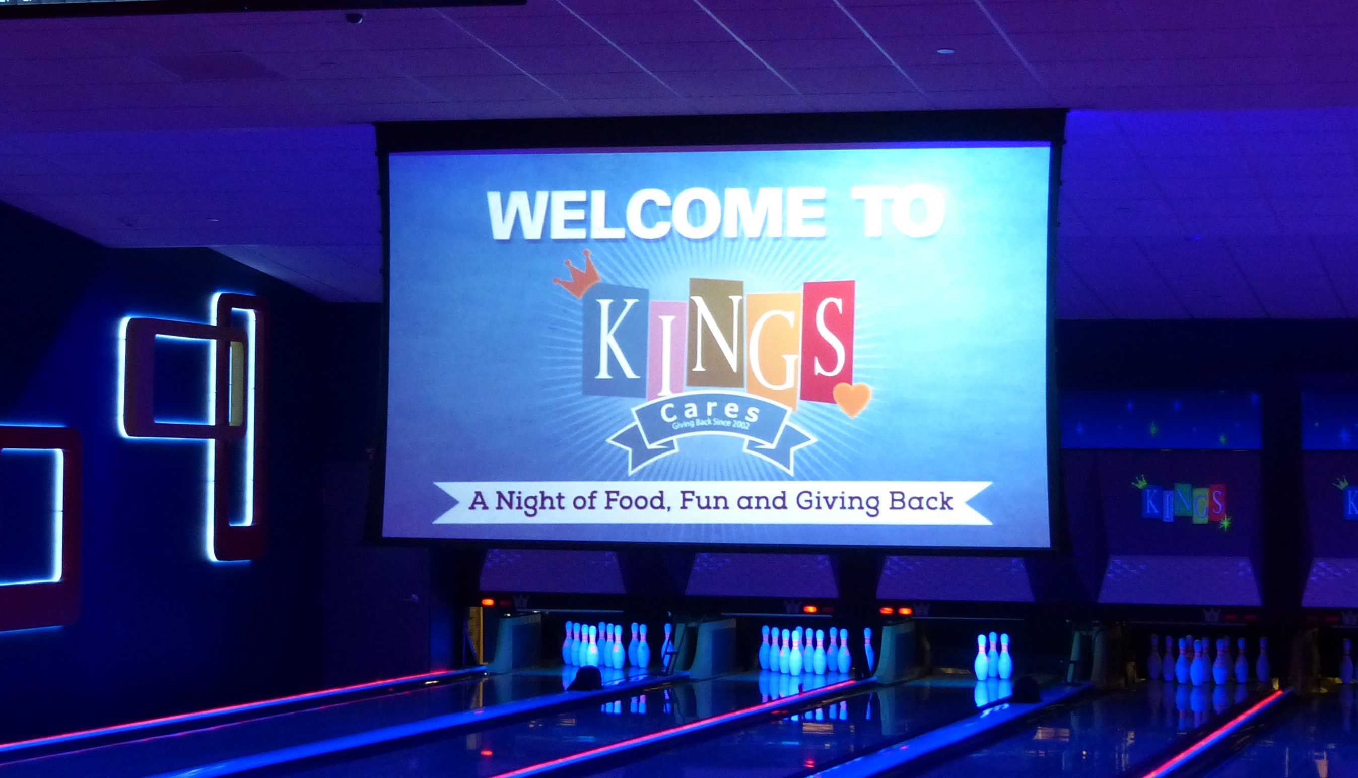 Kings celebrates a Night of Fun and Giving Back